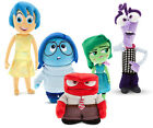 "9""-16"" Inside Out Plush Toy Figure Anger Joy Fear Disgust Sadness Soft Doll F"