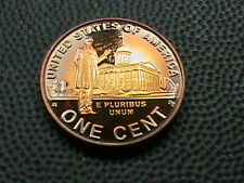UNITED STATES   1 cent   2009  -  S   PROOF   ,   #  2  BEAUTIFUL  RAINBOW  TONE