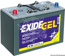 EXIDE Gel Battery 60Ah 95min 650W/h 12V 21.2Kg 278x175x190h mm