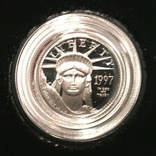1997-W 1/10 oz Proof American Platinum Eagle Coin w/Box & COA