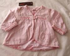 CATIMINI- BOUTIQUE BABY GIRLS SZ 6M PINK CARDIGAN WITH CUTE DETAIL- NWT