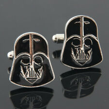 Cool Star Wars Style Darth Vader Cufflinks Men's Wedding Party gifts cuff links