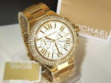 NEW Michael Kors Women Camille Gold Tone Stainless Steel Watch MK5756 + BOX