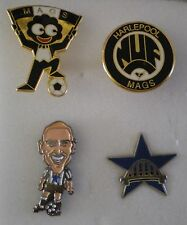 4 x Football Pin Badges NEWCASTLE UNITED Lot No3 MAGS TOON ARMY