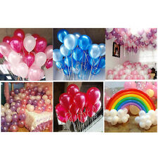 100X Mixed Color Pearl Latex Balloon For Celebration Party Wedding Birthday he27