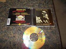 FREDDIE KING CD LIVE IN GERMANY KING BISCUIT KBR 001 BELGIUM 1993