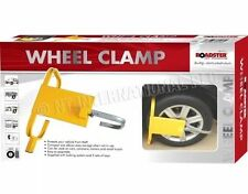 CAR VAN WHEEL HEAVY DUTY CLAMP SAFETY LOCK FOR CARAVANS TRAILERS SMALL TRUCKS UK