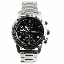 Fossil Men's Dean FS4542 Stainless Steel Chronograph Analog Watch