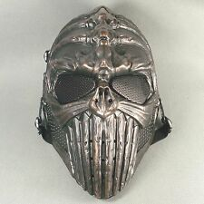 Akagane color Paintball Airsoft Full Face Protection Skull Spine Mask Terror