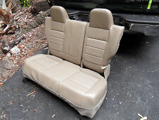 Jeep Compass REAR BENCH 2ND ROW 60/40 LEATHER SEAT SEATS WOW ! 10 11 12 13 14