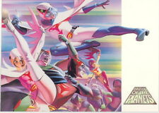 BATTLE OF THE PLANETS 2002 DYNAMIC FORCES PROMO CARD NO NUMBER ALEX ROSS