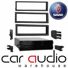 Autoleads FP-006 Saab 93 1999 to 2000 Din E Pocket Car Stereo Fascia Panel
