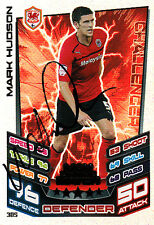 Cardiff City F.C Mark Hudson Hand Signed 12/13 Championship Match Attax MOTM.
