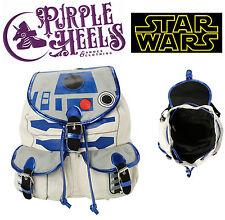 Star Wars R2D2 Blue Grey Robot Backpack