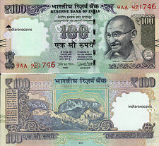 INDIA 2016 New Sign Urjit Patel 100 RS E Inset Paper Money Bank Note UNC NEW
