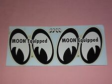 VINTAGE NHRA MOON EQUIPPED 1960S DRAG RACE HOT ROD  DECAL STICKER