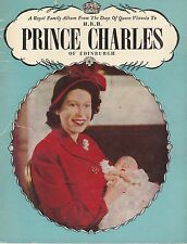 """""""Prince Charles"""" - An older Pitkin pictorial booklet"""