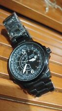 CITIZEN PILOT PROMASTER ECO-DRIVE BJ7010-59E NIGHTHAWK STAINLESS STEEL