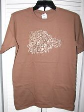 Dave Matthews Band Helvetica Shirt Medium NEW! Brown
