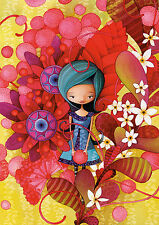 PUZZLE 1000 PIEZAS TEILE PIECES - BLUE LADY by KETTO - EDUCA 16762