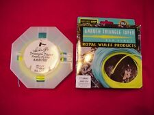 Royal Wulff Fly Line Ambush Floating Triangle Taper 2 Tone #3 GREAT NEW
