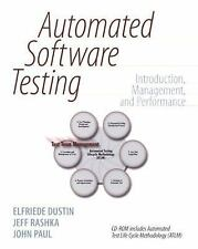 Automated Software Testing: Introduction, Management, and Performance: Introduct