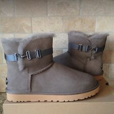 UGG Aurelyn Primer Suede / Sheepskin Buckle Boots US 11 Womens 1010257