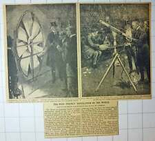 1912 House Of Commons Best Ventilated Chamber In The World Testing Apparatus