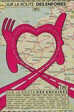 Les Enfoirés 2015 : Sur La Route Des Enfoirés (2 DVD)