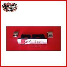 Logo S Line Griglia Radiatore - con mollette - Audi A1
