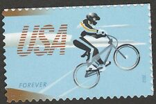 US 4690 Bicycling BMX Rider forever single MNH 2012