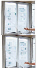 Anti Insect 2 set Fly Bug Mosquito Door Window Curtain multicolor 5/45