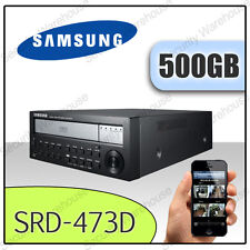 SAMSUNG SRD-473D 4 CHANNEL Network DVR 500GB Digital Video Recorder CCTV DVD