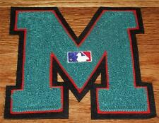 """Miami Marlins Chenille Patch NEW Embroidered Varsity Letter Large 5.5"""""""