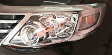 LH+RH CHROME COVER HEAD LIGHT LAMP TRIM FOR TOYOTA FORTUNER SUV 2012 2013 2014