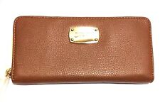 Michael Kors Continental Tan Leather Purse Wallet RRP £135