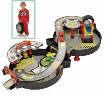 Latest Chad Valley Wheel Garage with . Race the Car Turn the knob Anti-Clockwise