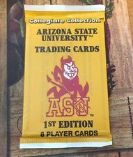 Collegiate Collection Arizona State University Trading Cards 1st edition sealed