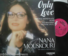 "NANA MOUSKOURI ~ Only Love ~ 12"" Single PS"
