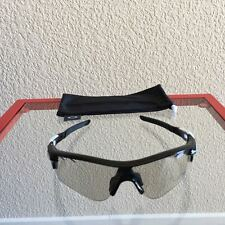 NEW Oakley RADARLOCK POLISHED BLACK / CLEAR BLACK PHOTOCHROMIC ACTIVATED