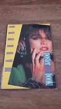 Rare Madonna Large 1986 20 Pull Out Poster Book