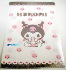 Sanrio Japan BABY kuromi A4 clean file/folder my melody