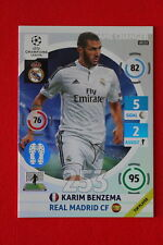 ADRENALYN CL 2014/15 UPDATE GAME CHANGER BENZEMA REAL MADRID 115  MINT!
