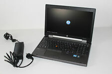 HP Elitebook 8570w / Intel Core i7 2,60 GHz / 16 GB RAM / 500 GB HDD