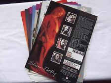 19 x Post Office A4 Commemorative Stamp Posters 1992 - 97. See pics in listing.