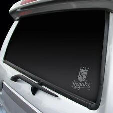 Kansas City Royals Chrome Window Graphic [NEW] Silver Sticker Decal Car Auto MLB