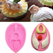 3D Baby Angel Wing Silicone Soap Mould Chocolate Cake Fondant Decorating Mold