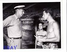John Hudson barechested, Gary Cooper VINTAGE Photo Return To Paradise