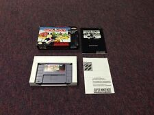 Monopoly  (Super NES, 1992) Game, box, manual