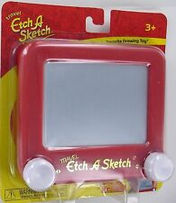 Travel ETCH A SKETCH Drawing Toy Ohio Art 555X Etch-A-Sketch Classic RED New